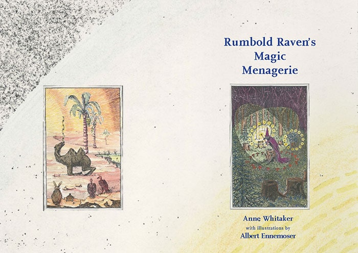 Rumbold Raven's Magic Menagerie - Front Cover