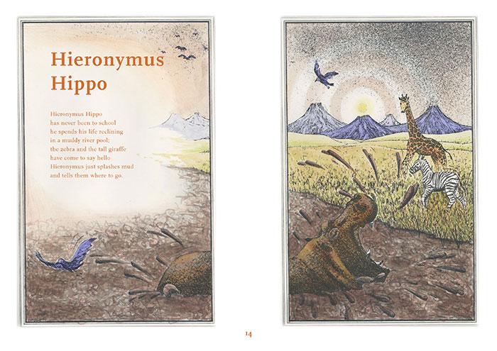 Rumbold Raven's Magic Menagerie - Hieronymous Hippo