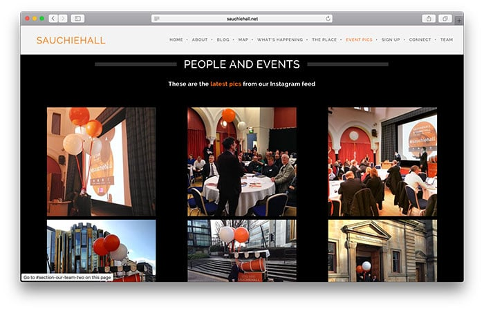 Sauchiehall - People and Events